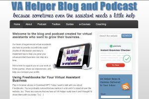 va helper blog and podcast for virtual assistants